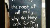 《修行的地方》(二) 金錢是萬惡之根
