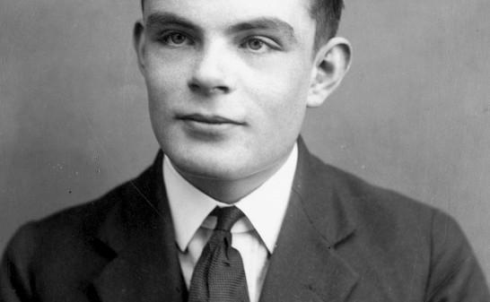 Alan Turing as a young man
